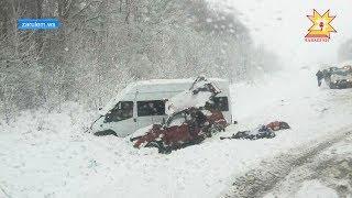 Произошла авария на автодороге «Гигант-Большой Сундырь» в Моргаушском районе.