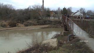 За уровнем воды в реках Ставропольского края наблюдают 30 гидропостов