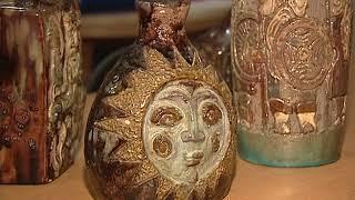 В ярославском Музее-заповеднике открылась выставка керамиста-реставратора Алексея Егорова