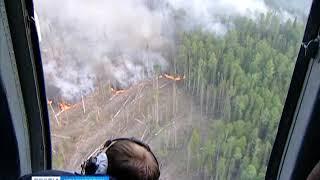 В Эвенкии прогнозируют пожарную опасность 5-го класса