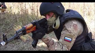 Белгородские ОМОНовцы посвятили тактические учения генералу А.Романову