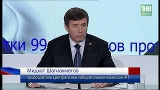 Путин - 82%, Грудинин - менее 10%, Собчак - 1%, явка - 77%: ЦИК - итоги выборов в Татарстане. ТНВ