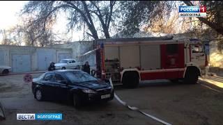 В Волгоградской областной больнице произошел пожар