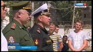 В Астрахани воспитанники училища закрытого типа стали призёрами Всероссийских военно-полевых сборов