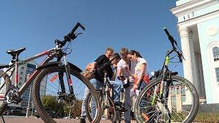 В Саранске прошел городской велоквест