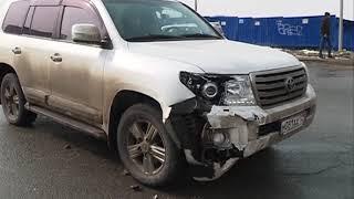 Размеренное движение наскучило водителю внедорожника и он спровоцировал ДТП