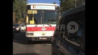 Водитель автобуса попал в ДТП в Хабаровске из-за неисправных тормозов. Mestoprotv