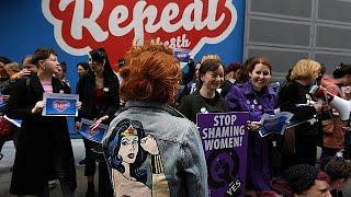 """Ирландия решает судьбу """"восьмой поправки"""""""
