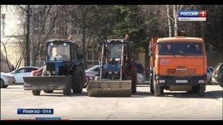 В Йошкар-Оле стартовал месячник «Чистый город» - Вести Марий Эл