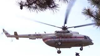 Крымские спасатели ликвидировали пожар