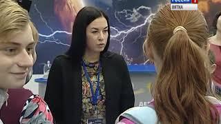 Акция ГИБДД в космоцентре (ГТРК Вятка)