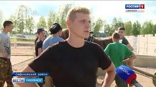 Молодые смоленские казаки познакомились с… советскими тяжеловозами