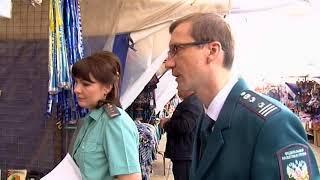 Налоговые инспекторы и судебные приставы побывали на Сенном рынке