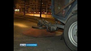 Как убирают улицы Калининграда во время ЧМ-2018