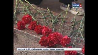 В Чебоксарах прошёл митинг, посвящённый автопробегу ко Дню Победы