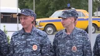 Возвращение полицейских со службы