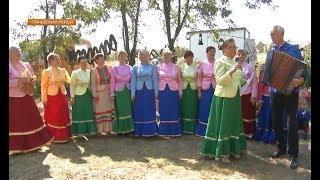 Маленьких жителей села Сергиевского накормили мёдом и показали предметы быта, которыми пользовались