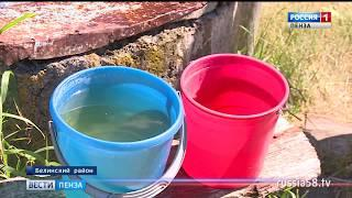 Жители пензенского села в жару остались без питьевой воды