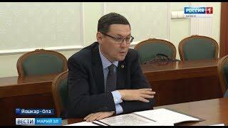 В Йошкар-Оле состоялась рабочая встреча Главы региона и консула Казахстана