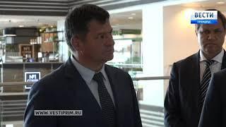Юрий Трутнев проверяет готовность Владивостока к Восточному экономическому форуму