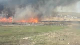 Пожар у ТЭЦ-5