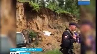 Мужчину насмерть задавило грунтом на Олхинской горе в Иркутском районе