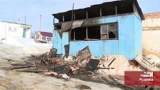 На центральном рынке в Рузаевке едва не сгорел человек