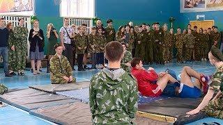 Самбисты провели мастер-класс для школьников в Краснодаре