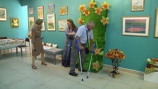 UTV. В Уфе открылась выставка творческих работ людей с ограниченными физическими возможностями