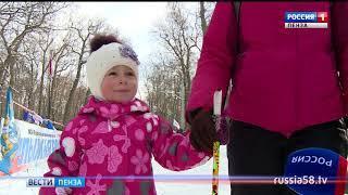 На Олимпийской аллее сотни пензенцев показали пример спортивного азарта