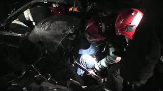 4.12.2018 Деблокировка пострадавших в ДТП