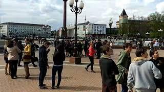 В Калининграде эвакуируют ТЦ «Кловер»