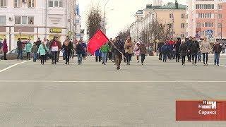 В Саранске состоялась первая репетиция театрализованного пролога к параду Победы