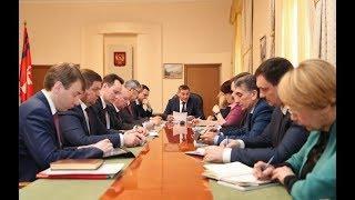 Губернатор Андрей Бочаров поставил задачи по итогам Российского инвестиционного форума