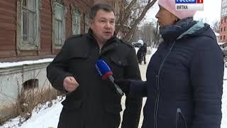 О судьбе дома купца Лебедева на улице Дерендяева, 61(ГТРК Вятка)