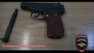 На АЗС – со своим пистолетом / задержание