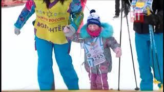 Антошин Шипулин первым финишировал на «Лыжне России»