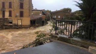 Наводнения во Франции: 12 погибших