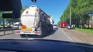 Между Чебоксарами и Новочебоксарском произошло массовое ДТП с пострадавшими