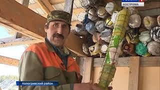 Житель Костромской области освоил технологию строительства из… мусора