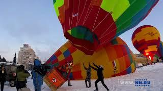 Полет на воздушном шаре с NN.RU