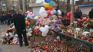 Президент России посетил Кемерово