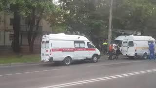 В Ставрополе маршрутка с пассажирами попала в ДТП