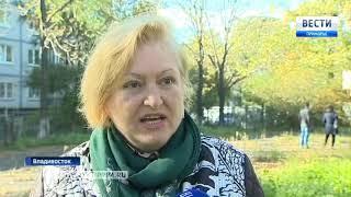 Во Владивостоке продолжаются строительные работы, несмотря на запрет главы региона
