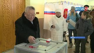 Юрий Трутнев проголосовал в Якутске