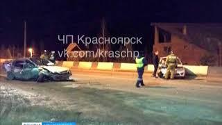 На трассе из Красноярска в Дивногорск произошло ДТП с участием коровы