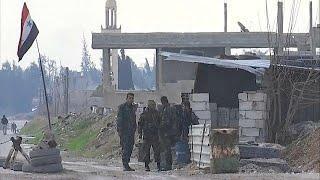 Сирийская армия начала наступление на Восточную Гуту