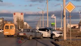 ДТП (авария г. Волжский) ул. Дружбы ул. 87 Гвардейская 22-11-2018 15-47