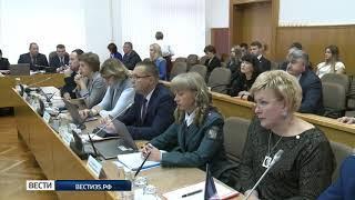 Депутаты рассмотрели 45 вопросов в рамках сессии ЗСО