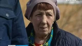 Строители, возводящие развязку на улице Киренского, случайно снесли забор одинокой пенсионерки